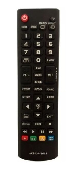 Controle Remoto Mxt 01253 Tv Lcd/ Led Lg Akb73715613