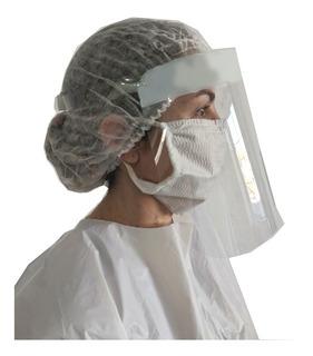 Protetor Facial Policarbonato Transparente Face Shield