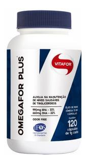 Omega For Plus 120 Caps - Vitafor - Omegafor Plus - Omega 3