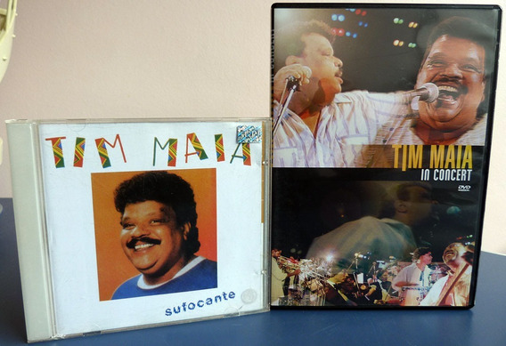 Lote Kit Tim Maia Ao Vivo Vale Tudo Cd & Dvd Original Soul