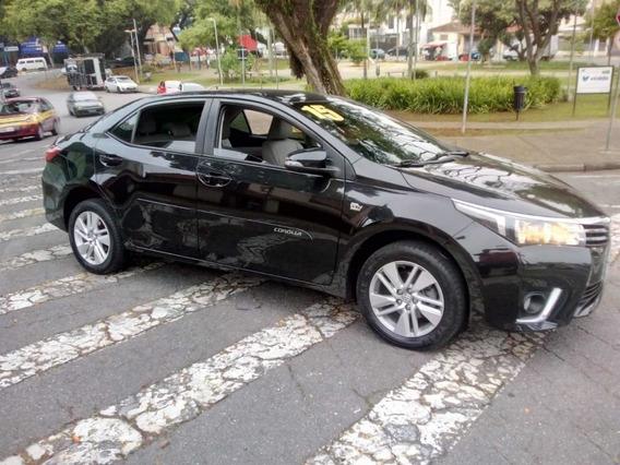 Toyota Corolla Gli 1.8 2015 Sem Entrada