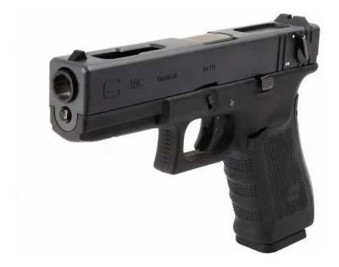Pistola Airsoft Glock G18c Gen4 We 6mm Green Gas Blowback