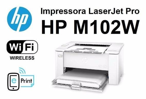 Impressora Hp Laser 1102 M-102w 110v Envio Imediato!