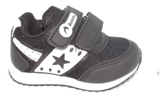 Tênis Jogging Velcroo Infantil Botinho Colonelli Bm779 Novo