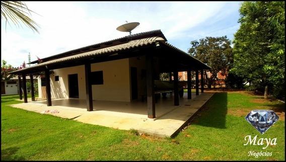Chácara Com Casa 3 Quartos No Condomínio Country Hall - 508