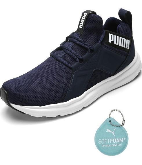 Tenis Puma Enzo Azul Lancamento 2019 100% Original