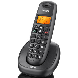 Telefone Sem Fio Elgin Tsf7001 Identificador De Chamadas