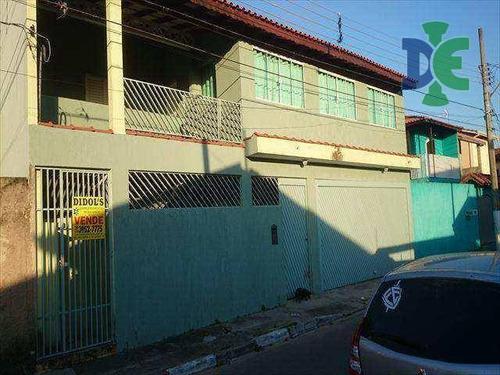 Sobrado Com 3 Dormitórios À Venda, 280 M² Por R$ 650.000 - Parque Dos Príncipes - Jacareí/sp - So0048