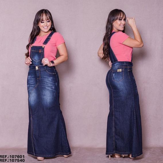 Salopete Jeans Frt / Jardineira Jeans