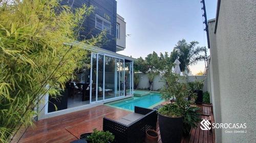 Imagem 1 de 30 de Casa À Venda, 393 M² Por R$ 3.500.000,00 - Alphaville Nova Esplanada - Votorantim/sp - Ca1823