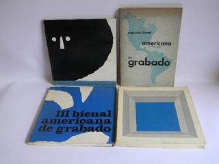 Bienal Americana De Grabado (4 Volúmenes) Nemesio Antúnez