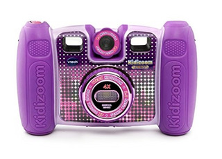 Vtech Kid Zoom Twist Connect Camerapurple Color