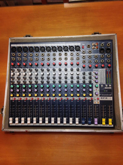 Mesa De Som Sound Craft - Efx12 Lexicon