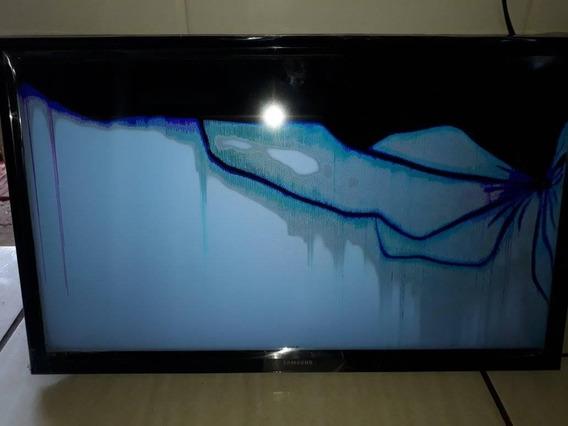 Tv Samsung 24 Polegadas Tela Quebrada