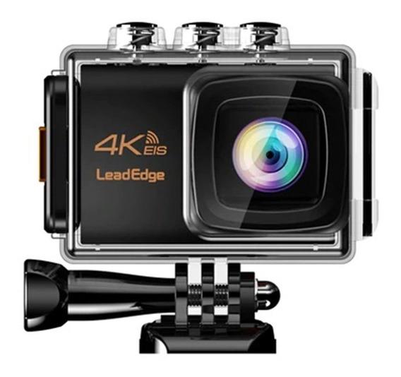 Câmera Ação Leadedge Le7000 4k 30fps 20mp Eis Micr.ext. Wifi