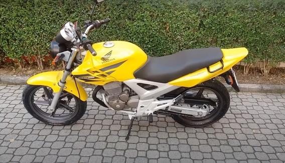 Honda Twister 250 Amarela