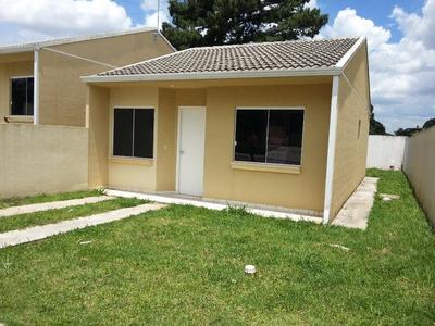 Seja O Primeiro A Morar - Casa Condomínio 2 Dorm Para Locação Na Fazenda Rio Grande - Ca0315