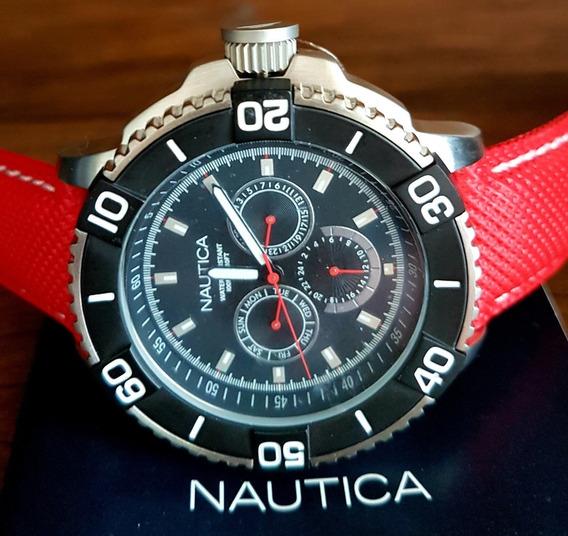 Relógio Nautica Lançamento Original.