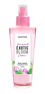 Body Splash Exotic Bloom Citric Sexitive Fragancia Corporal