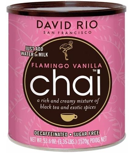 David Rio Chai Flamingo Sin Azucar Descafeinado Lata 1520 Gr