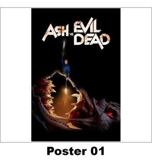 Poster Série 30x42 Ash Vs. Evil Dead (01)