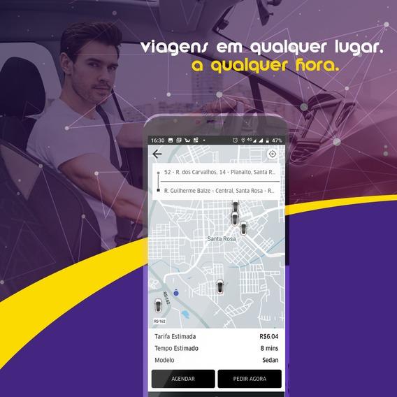 Aluguel E Venda Cloneuber Mobilidade Urbana Aplicativo App