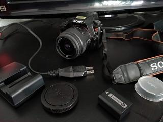 Cámara Profesional Sony Modelo Alpha A37