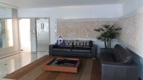 Apartamento À Venda, 1 Quarto, 1 Suíte, 1 Vaga, Copacabana - Rio De Janeiro/rj - 5743