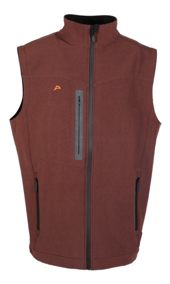 Chaleco Icy Denver Spandex Impermeable Ve1995 Red Coffee