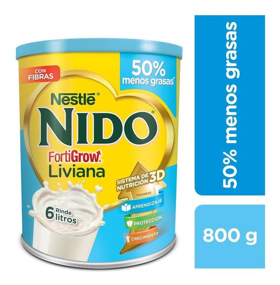 Nido Fortigrow Liviana 800gr Nestlé Oficial