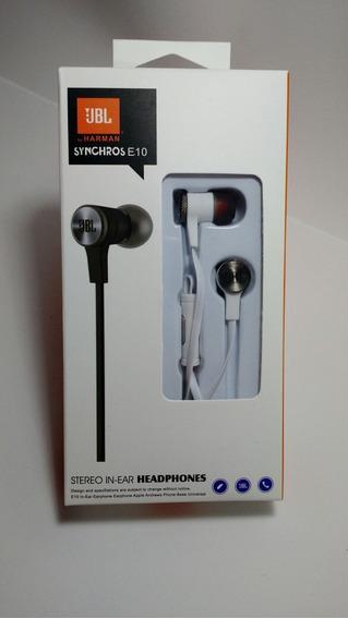 Fone Jbl Headphones Harmam E10 Promoção