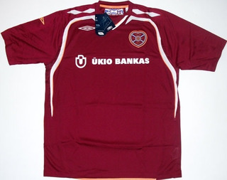 2007-2008 Jersey Hearts De Escocia
