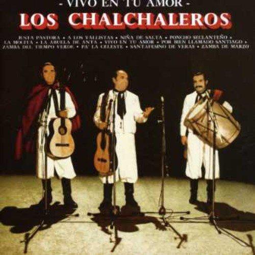 Cd : Los Chalchaleros - Vivo En Tu Amor (cd)