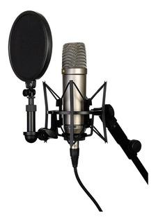 Micrófono Rode NT1-A condensador cardioide plata