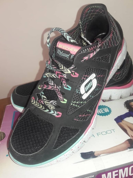 Zapatos Deportivos Dama Skechers Talla 9.5 Relaxed Fit