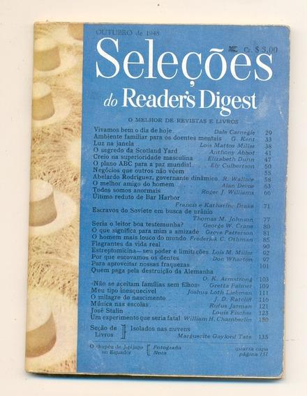 *sll* Revista Seleções Do Readers Digest - Outubro De 1948