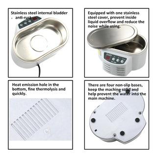 Mini Tamanho Household Digital Ultrasonic Cleaner Jias