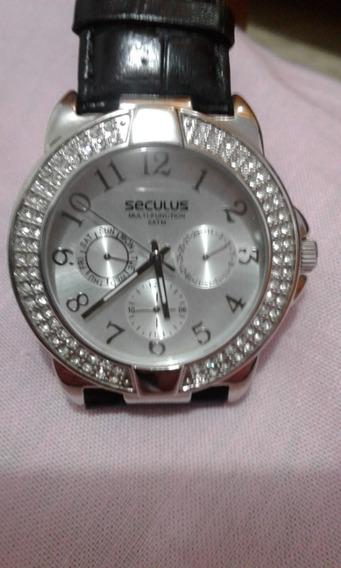 Relógio Seculus ( Original) Pulso Feminino - Perfeito Estado