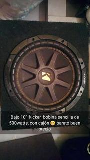 Bajo Kickers De 10 Pulgadas Con Cajon