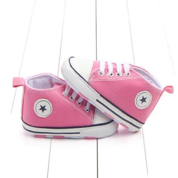 Sapatinho Tipo All Star Baby Tênis Infantil Bebê Sapato