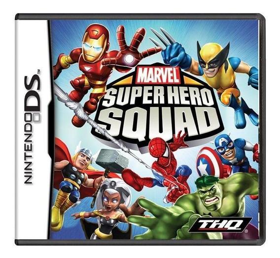 Marvel Super Hero Squad Ds Mídia Física Pronta Entrega