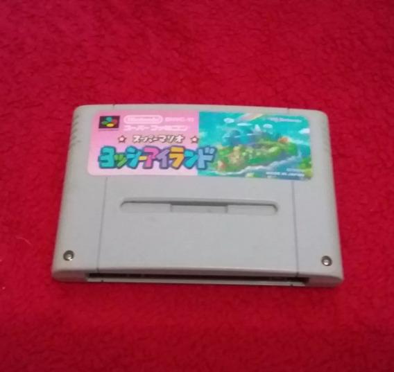 Yoshi Island Super Mario World 2 Original Supe Nintendo Raro
