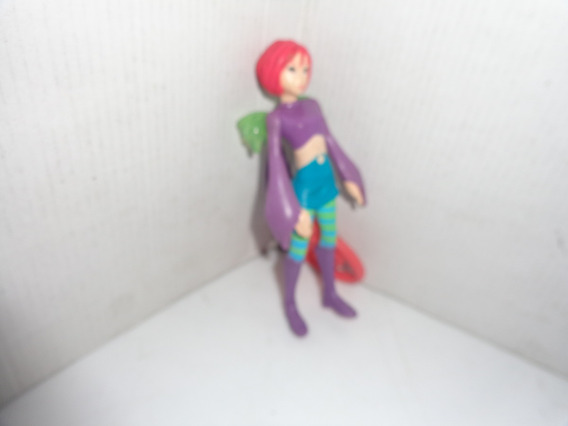 Boneca Witch Will Lin Mc Donalds 2006 Usada R.506