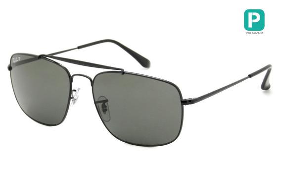 Óculos Ray Ban Rb3560 002/58 61 Polarizado - The Colonel - L