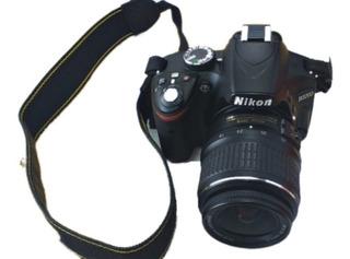 Cámara Nikon 24 Megapixel Modelo D3200