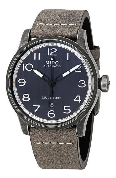 Relógio Mido Multifort Escape M0326073605000 Automatico Navy