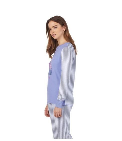 Pijama Para Dama 2 Piezas Super Suave Jane And Blaker