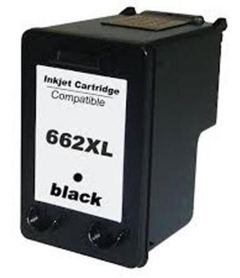 Cartucho Hp 662xl Preto Compativel 11ml