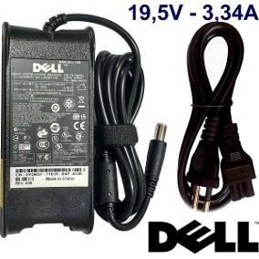 Fonte Carregador Para Notebook Dell 19.5v 3.34 65w Pa-12