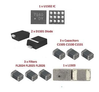 1 Sets Backlight Kit U1502 D1501 iPhone 6 6 Plus Luz Lcd